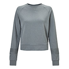 Buy Bjorn Borg Paulina Sweatshirt, Light Grey Melange Online at johnlewis.com