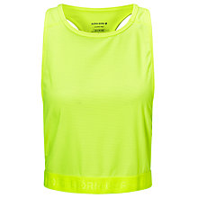Buy Bjorn Borg Parker Mesh Top, Yellow Online at johnlewis.com