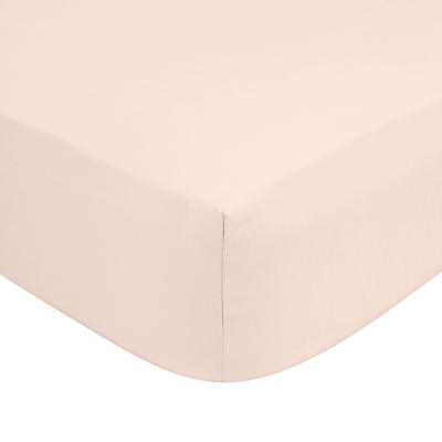 John Lewis 180 Thread Count Polycotton Deep Fitted Sheet