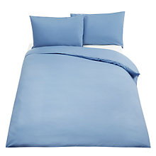 Buy John Lewis 180 Thread Count Polycotton Duvet Cover Online at johnlewis.com