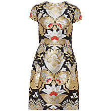 Buy Ted Baker Imoen Oriental Jacquard Dress, Black Online at johnlewis.com