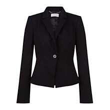 Buy Hobbs Clemence Jacket, Black Online at johnlewis.com