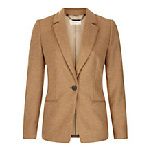 Buy Hobbs Lillie Jacket, Camel Online at johnlewis.com