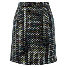 Buy Warehouse Tweed Pelmet Skirt, Multi Online at johnlewis.com
