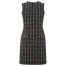 Buy Warehouse Pocket Front Tweed Dress, Multi Online at johnlewis.com