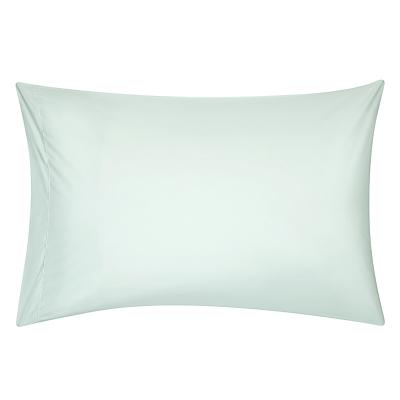 John Lewis Crisp & Fresh 400 Thread Count Egyptian Cotton Standard Pillowcase, Duck Egg