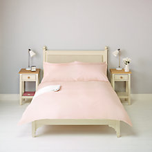 Buy John Lewis Bethany Duvet Cover and Pillowcase Set, Pink Online at johnlewis.com