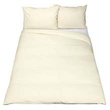 Buy John Lewis Brushed Cotton Duvet Cover and Pillowcase Set Online at johnlewis.com