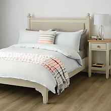 Buy John Lewis Coastal Tide Herringbone Duvet Cover and Pillowcase Set Online at johnlewis.com