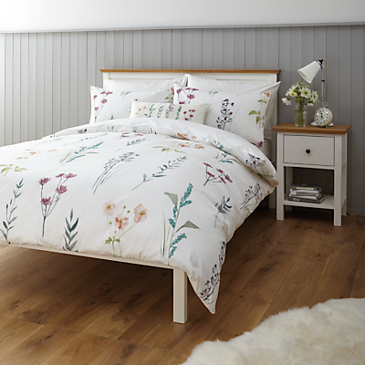John Lewis Relaxed Country Longstock Duvet Cover and Pillowcase Set
