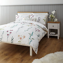 Buy John Lewis Relaxed Country Longstock Duvet Cover and Pillowcase Set Online at johnlewis.com