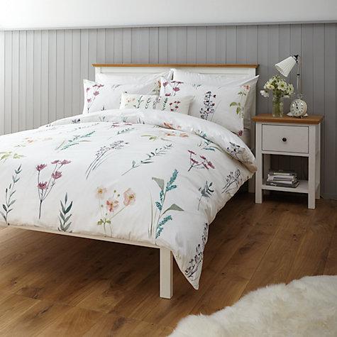 Buy John Lewis Longstock Duvet Cover And Pillowcase Set