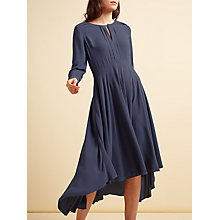 Buy Modern Rarity Eliptical Hem Dress, Tradewinds Online at johnlewis.com