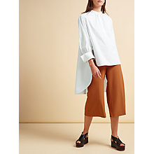 Buy Modern Rarity palmer//harding Oversized Gathered Shirt, White Online at johnlewis.com