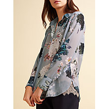 Buy Modern Rarity Archive Bloom Open Back Blouse, Multi Online at johnlewis.com
