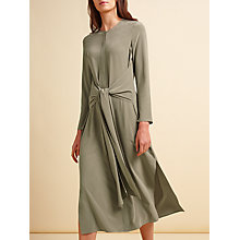 Buy Modern Rarity Tie Front Dress, Fallen Rock Online at johnlewis.com