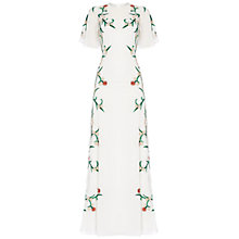 Buy Raishma Embroidered Filigree Gown, White Online at johnlewis.com