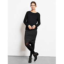 Buy hush Crossover Skirt, Black Online at johnlewis.com