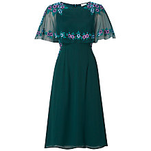 Buy Raishma Floral Cape Sleeve Dress Online at johnlewis.com