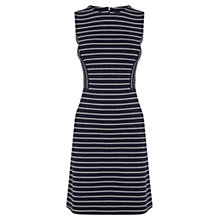 Buy Oasis Stripe Shift Dress, Navy Online at johnlewis.com
