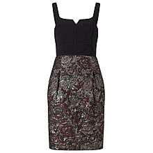 Buy Phase Eight Batienne Jacquard Dress, Multi Online at johnlewis.com