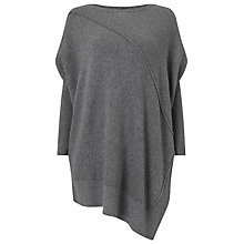 Buy Phase Eight Nicia Exposed Seam Jumper, Grey Online at johnlewis.com