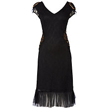Buy Raishma Lace Detail Dress, Black Online at johnlewis.com