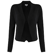 Buy Phase Eight Terra Smart Cardigan, Black Online at johnlewis.com