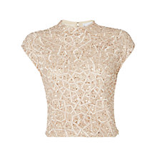Buy Raishma Geometric Embellished Crop Top Online at johnlewis.com