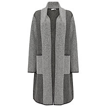 Buy Jacques Vert Heavy Weight Coatigan, Mid Grey Online at johnlewis.com