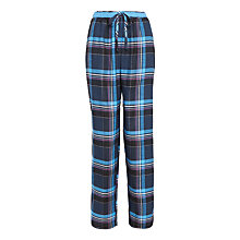 Buy DKNY Plaid Town Pyjama Bottoms, Navy Check Online at johnlewis.com