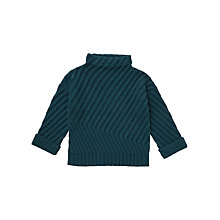 Buy Jigsaw Girls' Diagonal Rib Jumper Online at johnlewis.com