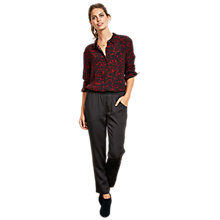Buy hush Thea Trousers, Black Online at johnlewis.com