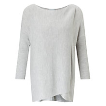 Buy Jigsaw Wrap Front Boat Neck Jumper Online at johnlewis.com
