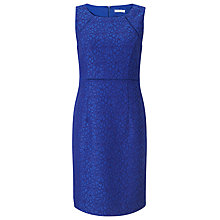 Buy Jacques Vert Petite Textured Dress, Bright Blue Online at johnlewis.com