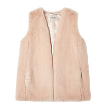 Buy Precis Petite by Jeff Banks Faux Fur Gilet Online at johnlewis.com