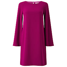 Buy Jacques Vert Split Sleeve Tunic Dress, Dark Pink Online at johnlewis.com