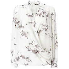 Buy Jacques Vert Marble Floral Overshirt, Grey Online at johnlewis.com