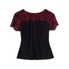 Buy Precis Petite Alexandra Lace Top, Multi Online at johnlewis.com