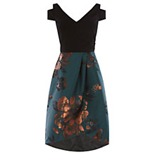 Buy Coast Shorter Length Anya Jacquard Dress, Multi Online at johnlewis.com