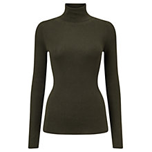 Buy Jigsaw Polo Neck Jumper Online at johnlewis.com