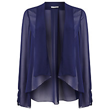 Buy Jacques Vert Chiffon Kimono Cover Up, Dark Blue Online at johnlewis.com