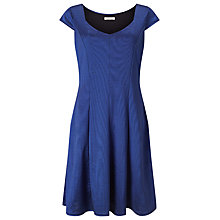 Buy Jacques Vert Ponte Prom Dress, Bright Blue Online at johnlewis.com