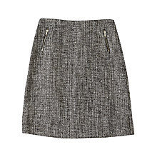 Buy Precis Petite Jeff Banks Tweed Skirt, Grey Online at johnlewis.com