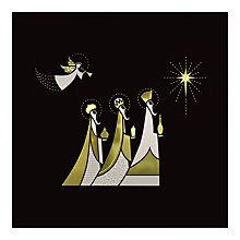 Buy CCA Personalised 'An Angel and Three Kings' Charity Christmas Cards Online at johnlewis.com
