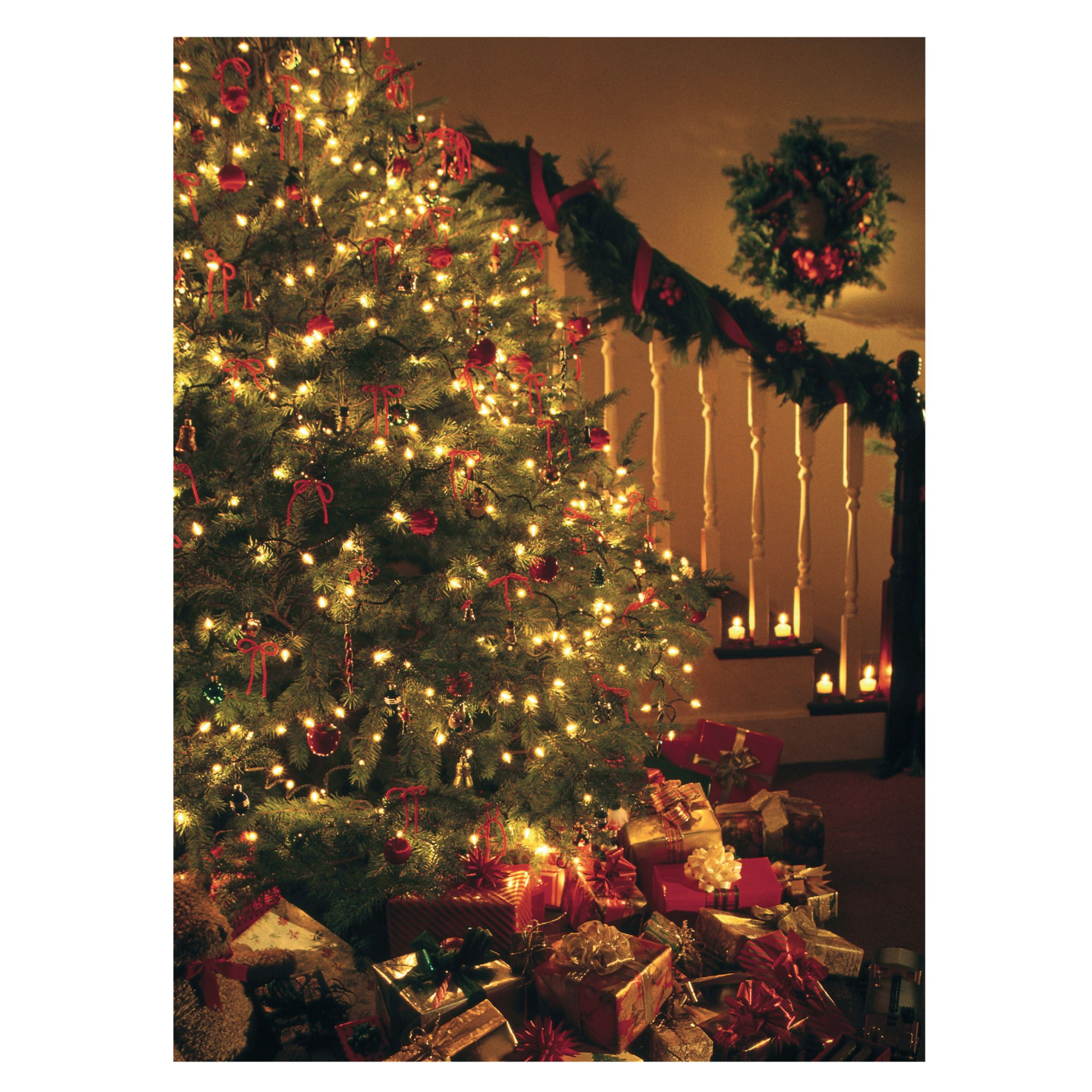 CCA CCA Personalised 'Christmas Interior' Charity Christmas Cards