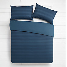 Buy House by John Lewis Waffle Stripe Duvet Cover and Pillowcase Set Online at johnlewis.com