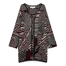 Buy Gerard Darel Dario Coat, Dark Red Online at johnlewis.com