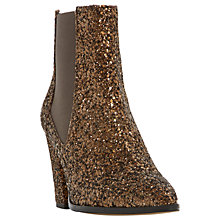 Buy Dune Order High Block Heel Ankle Boots Online at johnlewis.com
