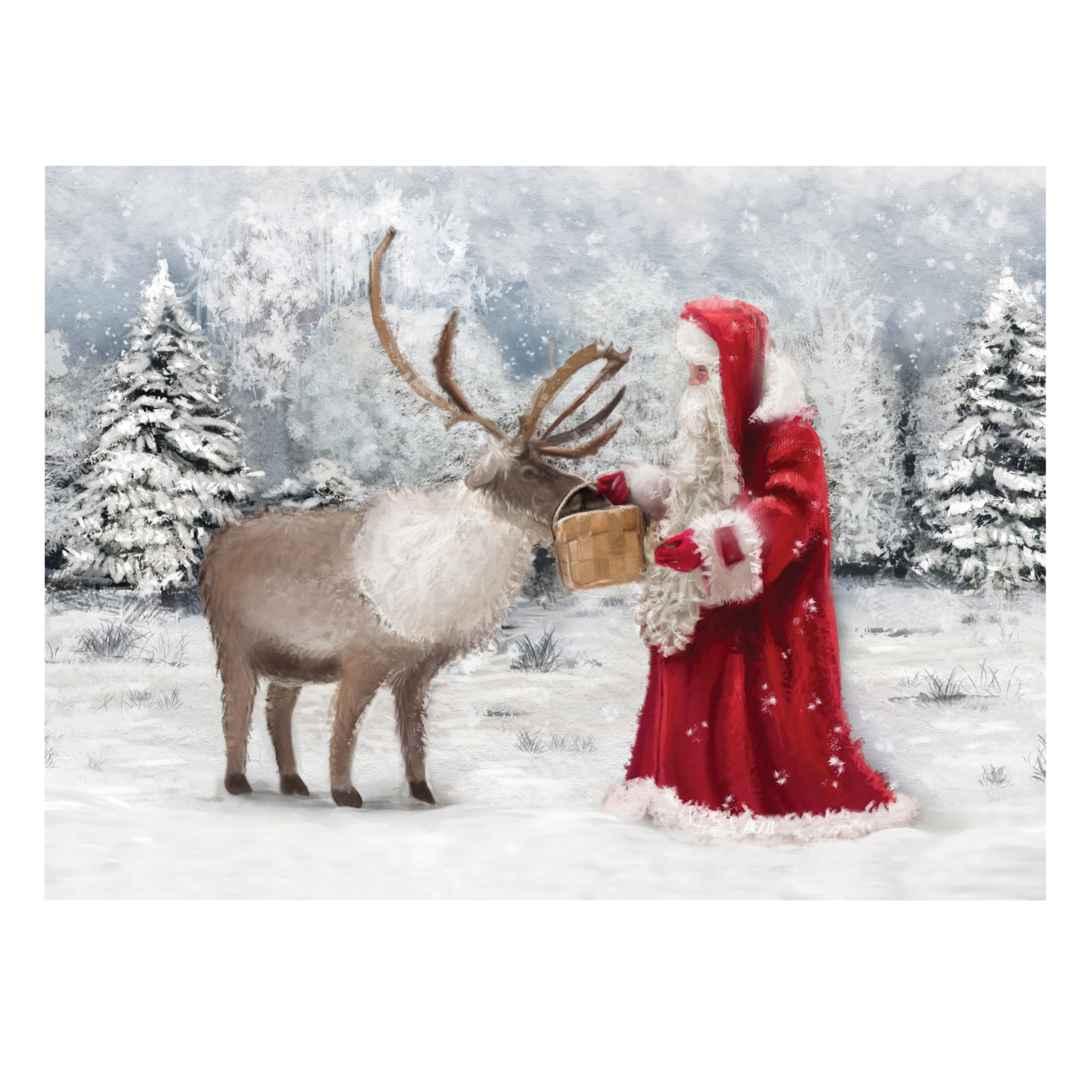 CCA CCA Personalised 'Christmas Preparations' Charity Christmas Cards